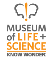 museum of life and science wrap logo